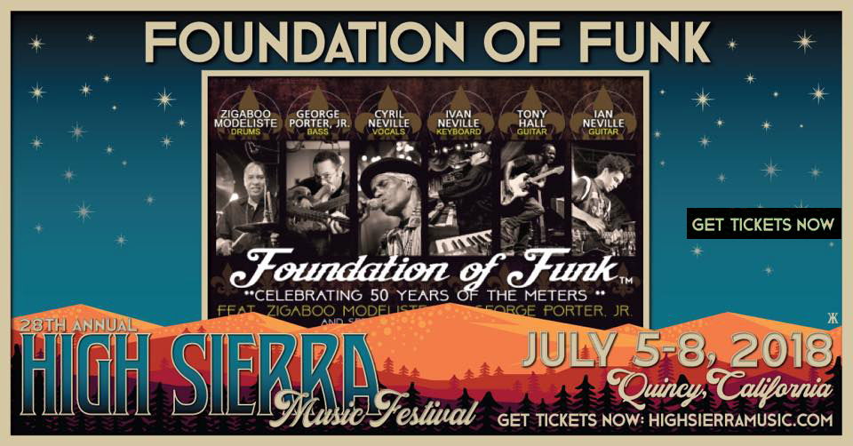 July 5-8 – 2018 – Foundation of Funk