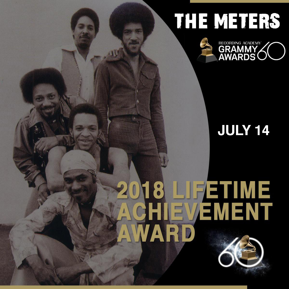 The Meters Lifetime Achievement Award Grammys