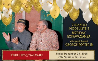 Dec 28th – Zigaboo Modeliste's Birthday Extravaganza