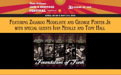 Foundation of Funk -New Orleans Jazz and Heritage Festival
